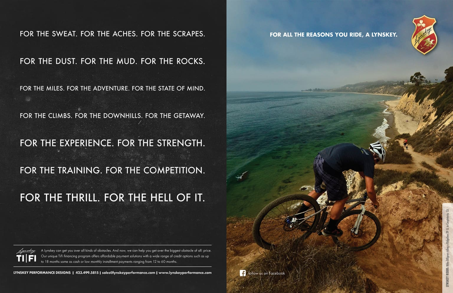 """Lynskey """"For All The Reasons Ride"""""""
