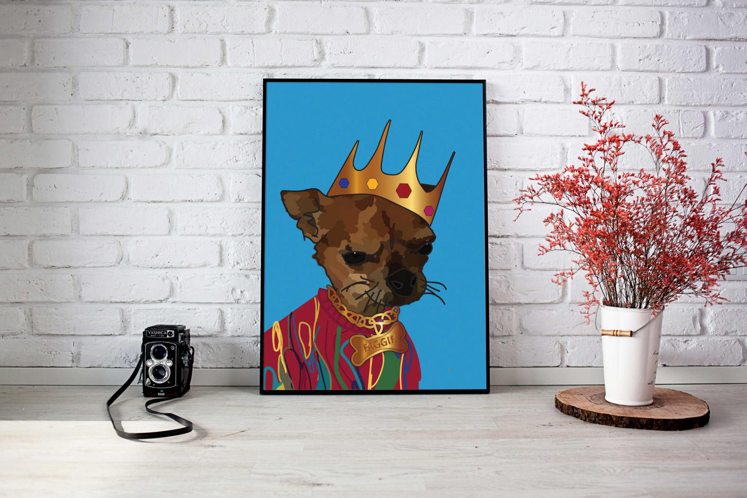 Friends Dogs As Rappers