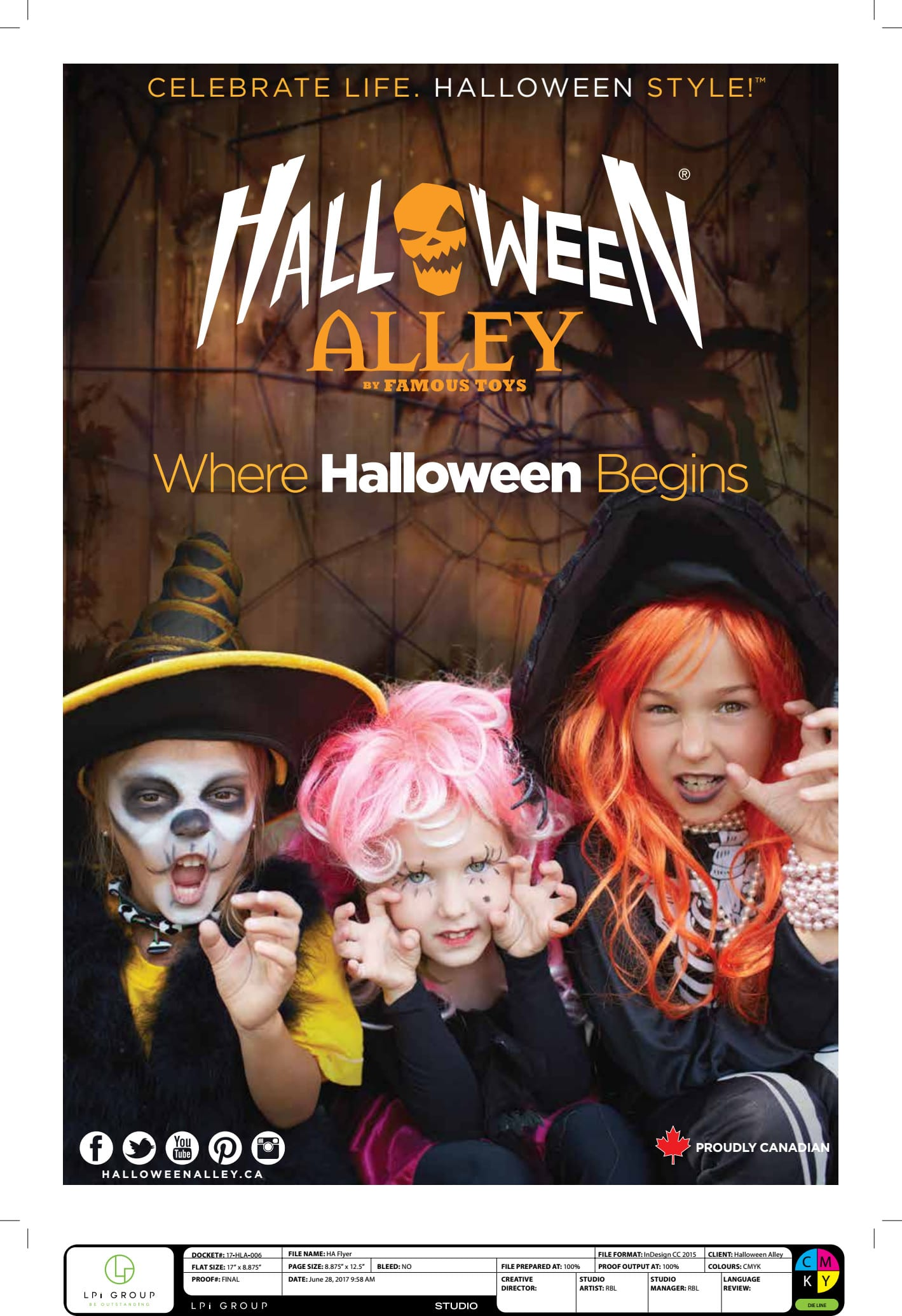 Halloween Alley: Product Descriptions