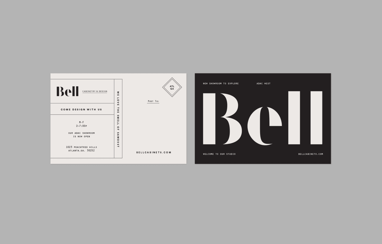 Bell Cabinetry & Design - Rebrand