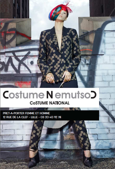Costume National International Ad Campaign