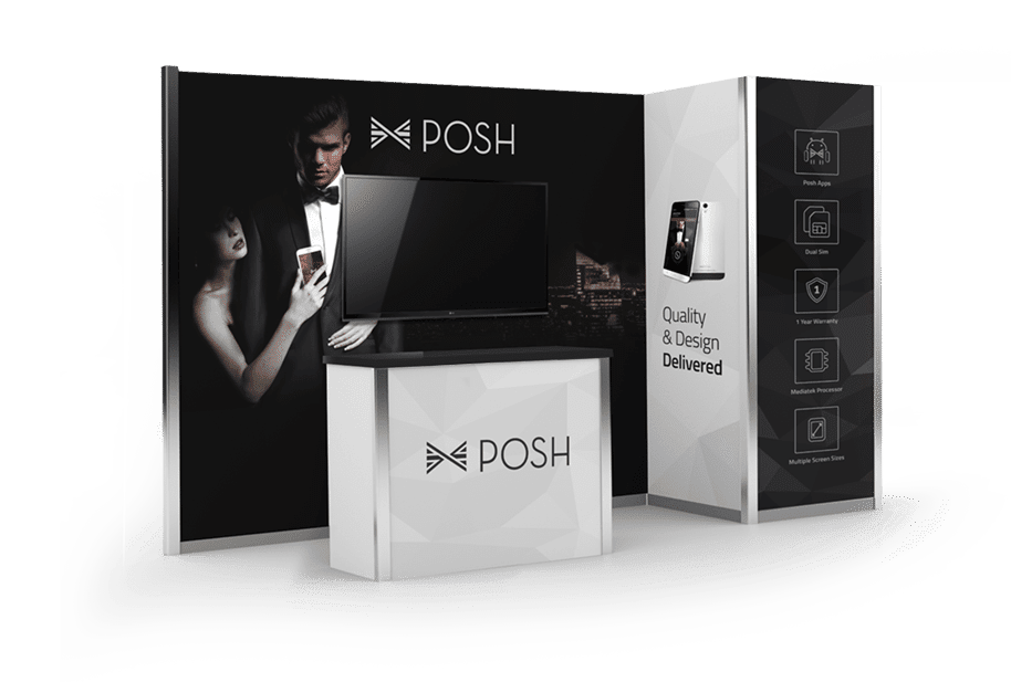 Posh Mobile: Leading a dramatic brand redesign and relaunch