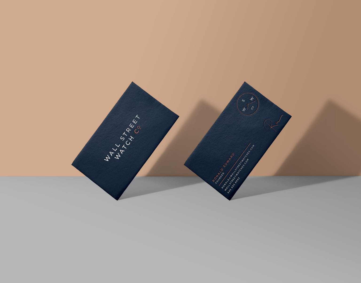 Wall Street Watch Co.: Brand Identity, Packaging Design