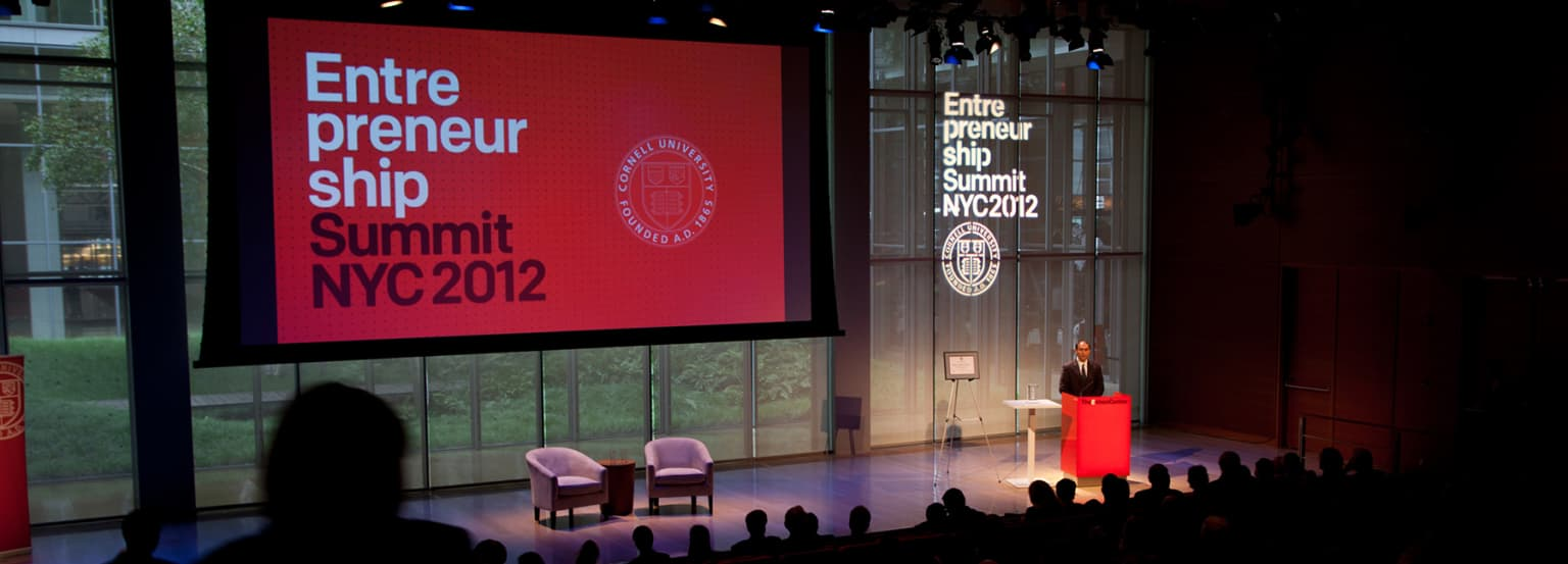 Cornell Entrepreneurship Summit