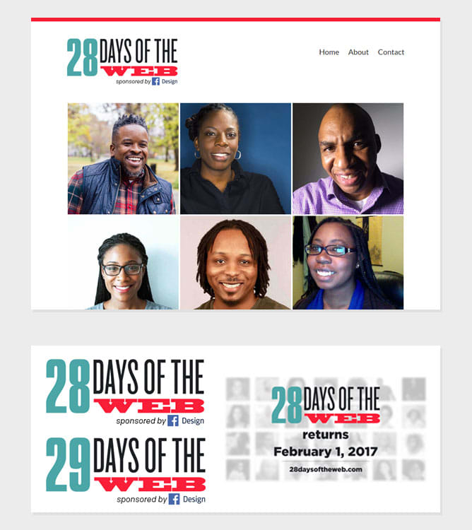 28 Days of the Web