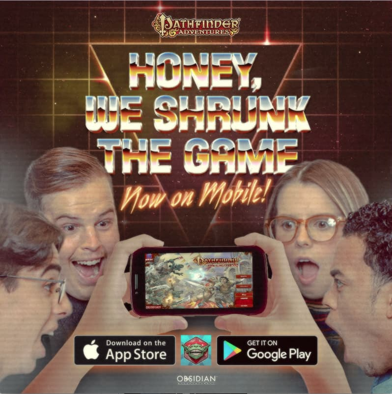 Pathfinder Adventures Mobile Game Launch