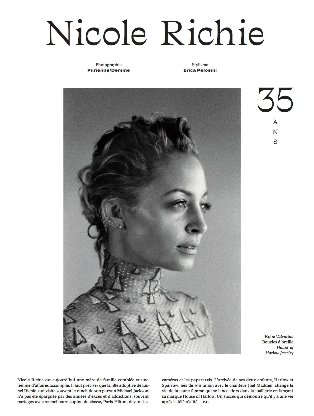 L'Officiel 95th Anniversary Issue