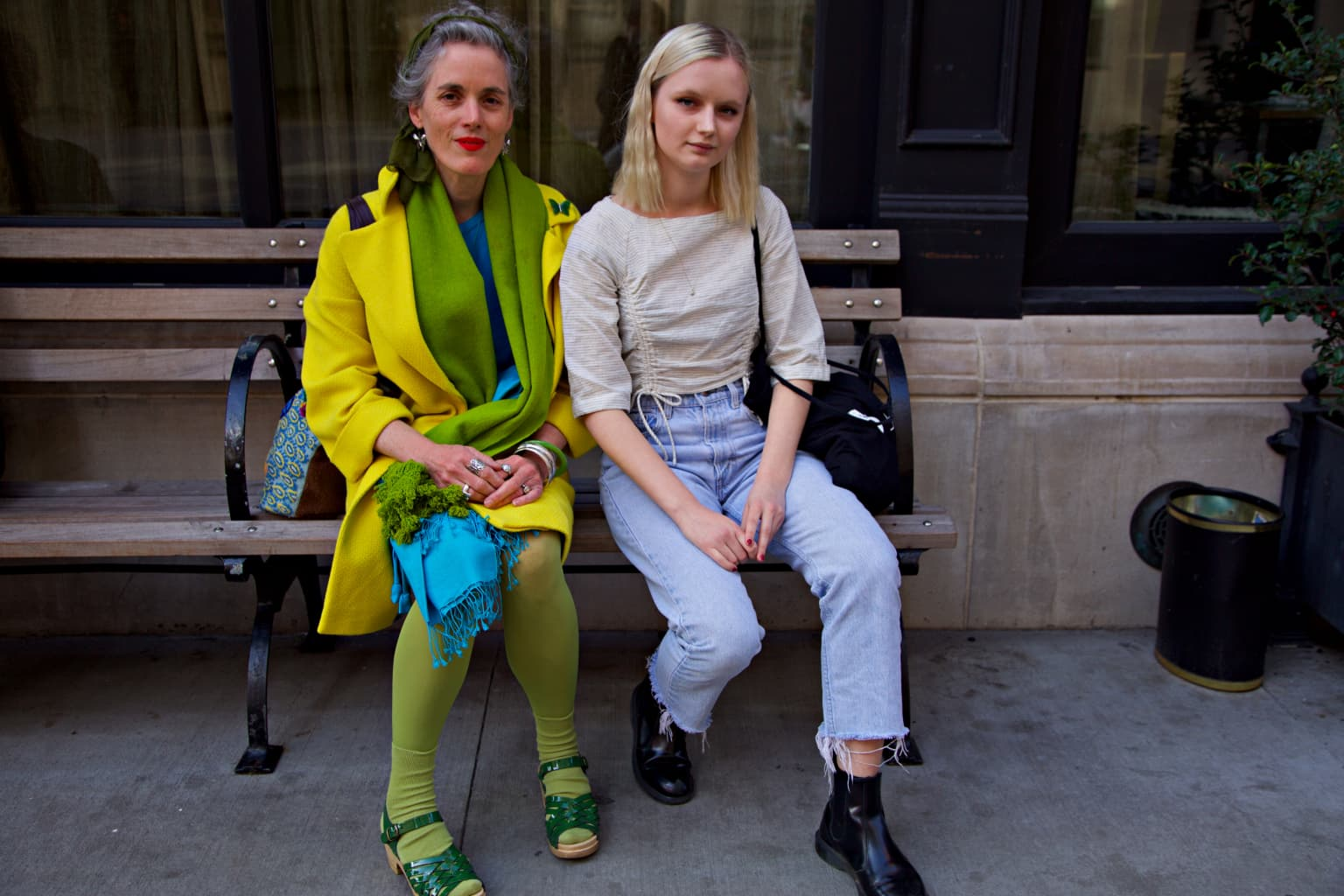 Stylish Mothers and Daughters