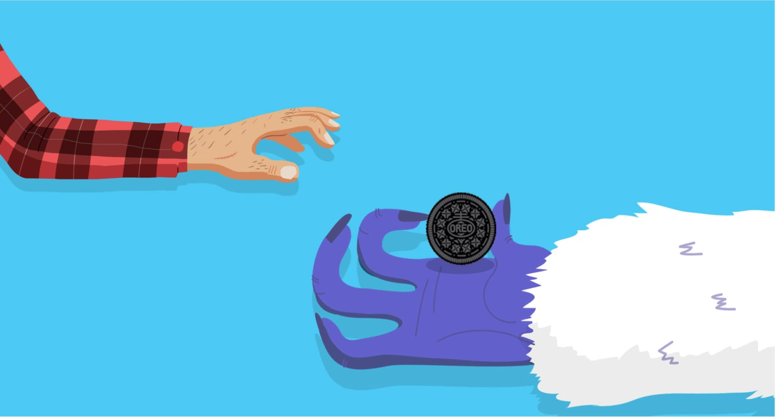 "Oreo Time Square ""Hand Off"""