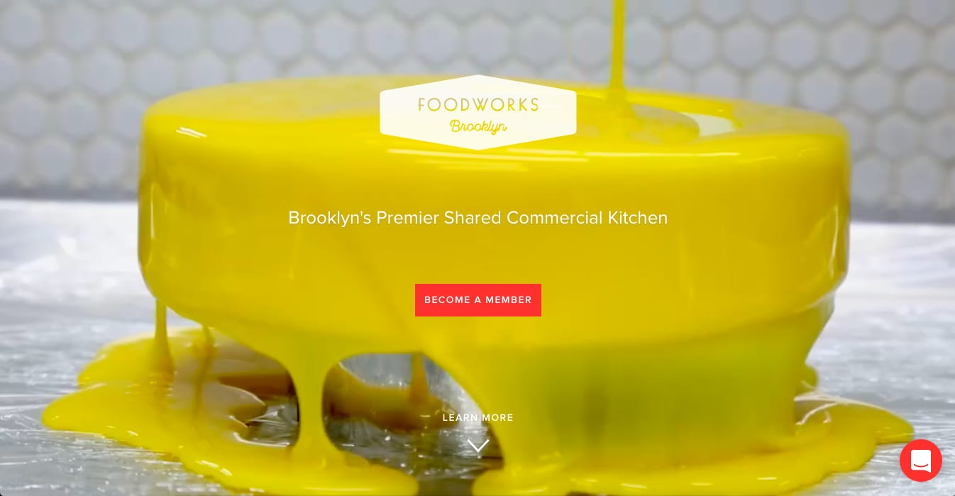 Brooklyn Foodworks Website