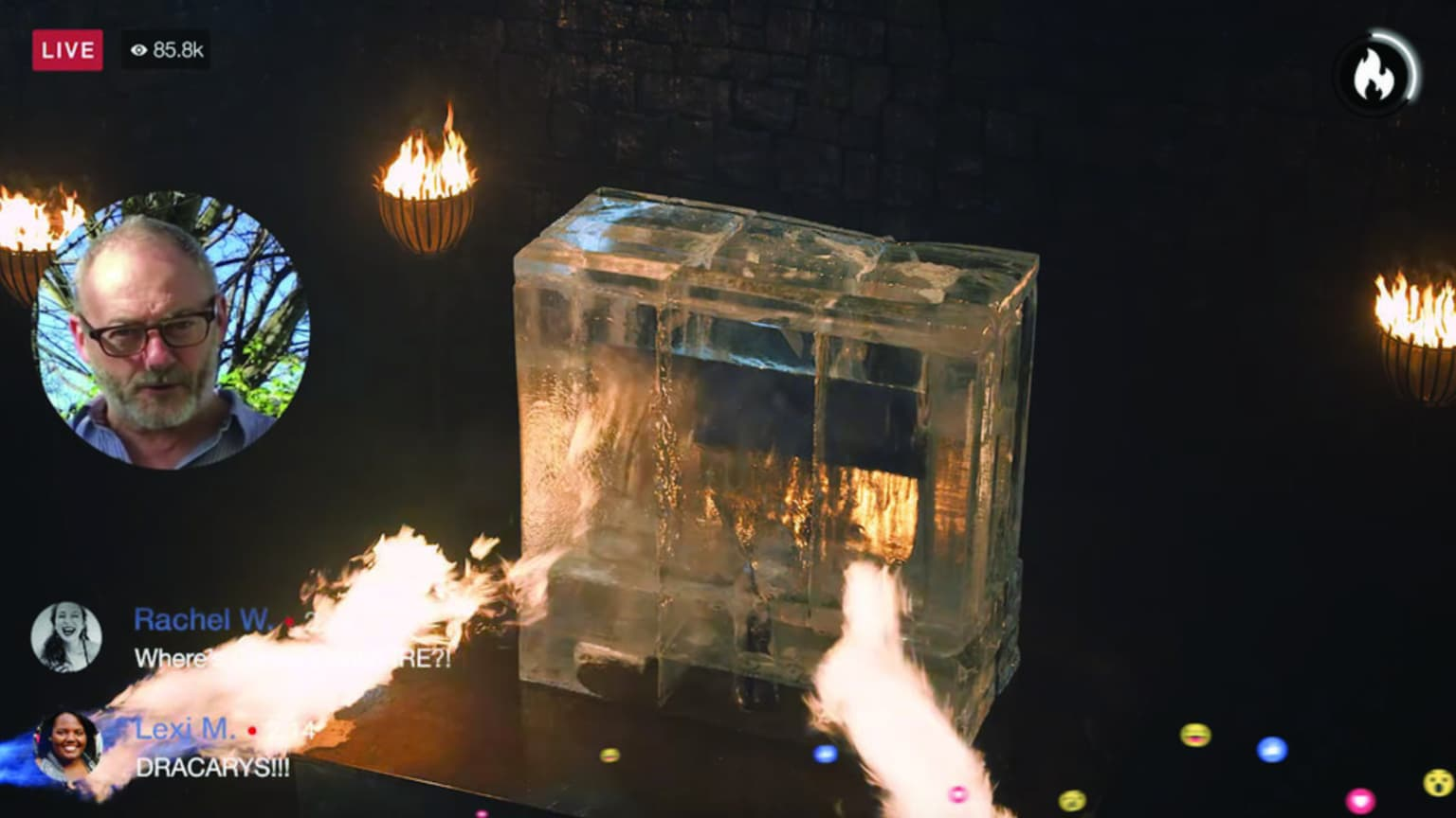 Game of Thrones Ice + Fire FB Live