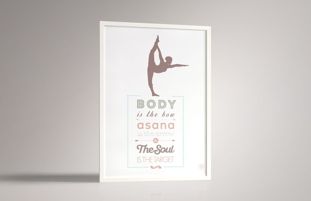 Altar Yoga Shala Identity and Posters