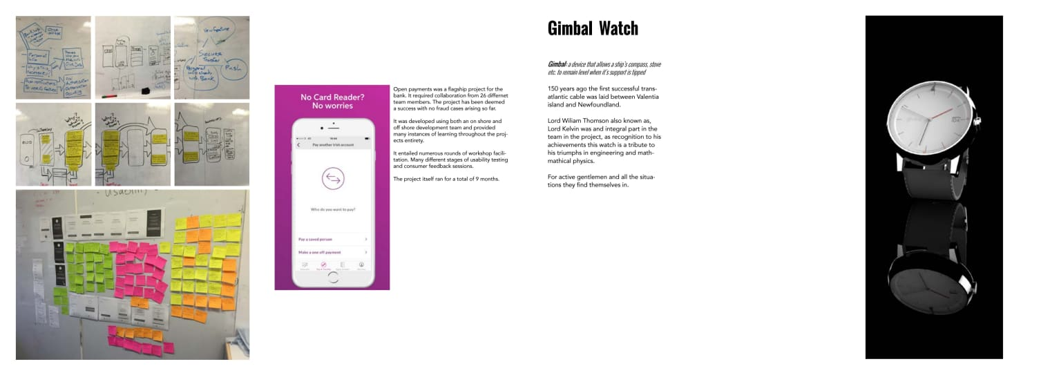 payments - Gimbal watch