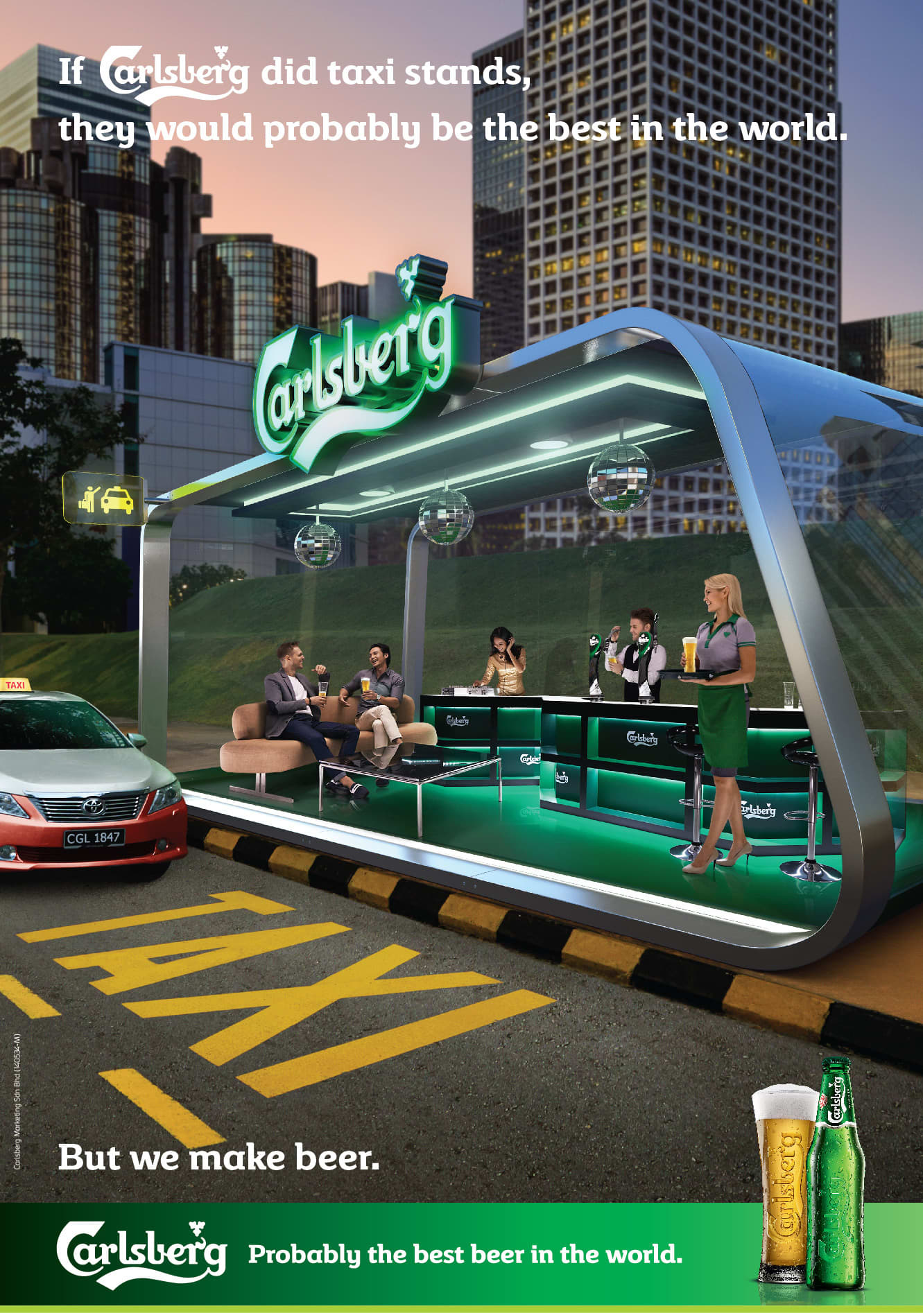 If Carlsberg Did, Integrated Campaign