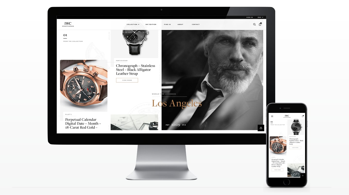 IWC - PRODUCT SITE