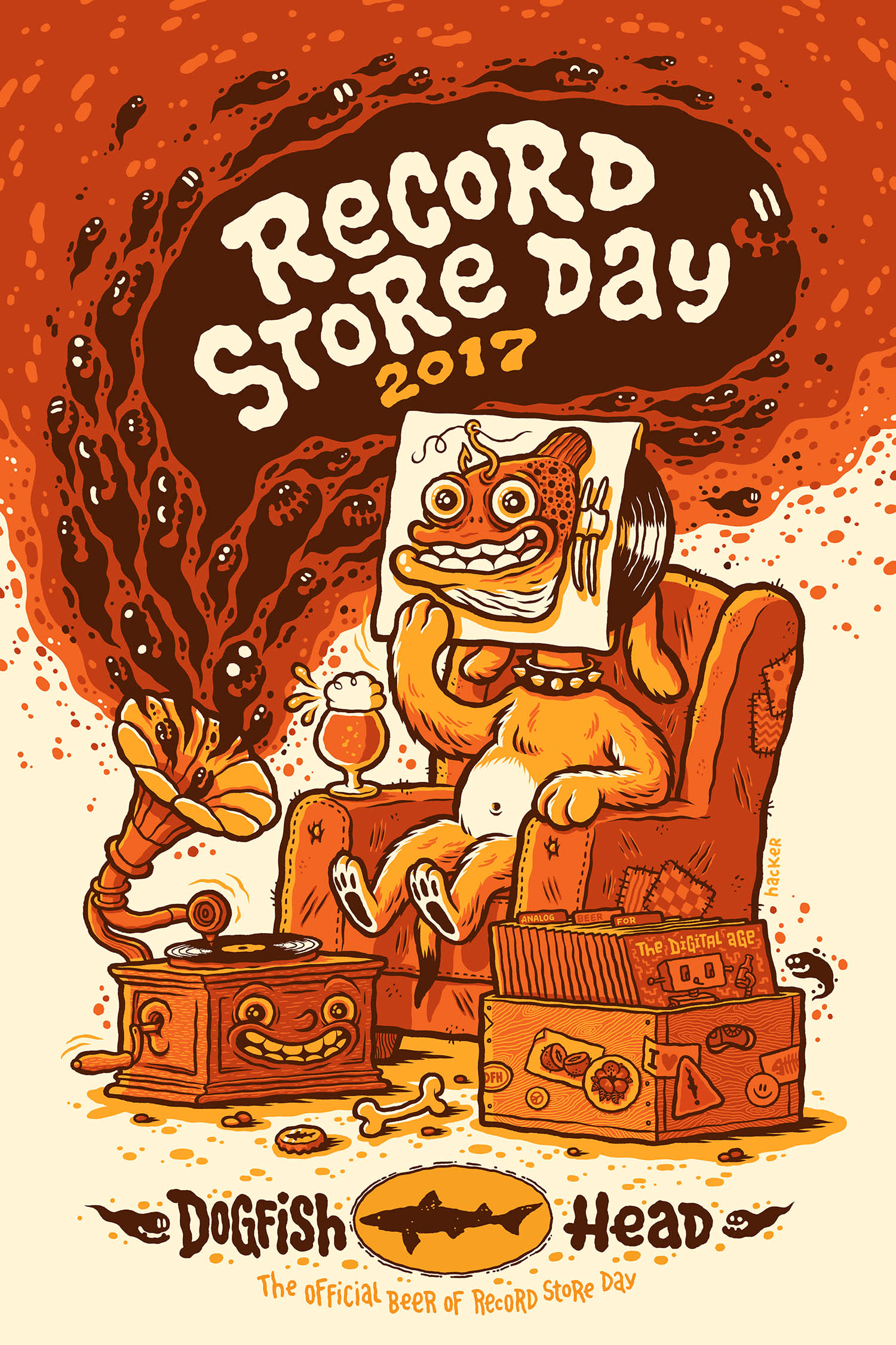 Record Store Day x Dogfish Head poster