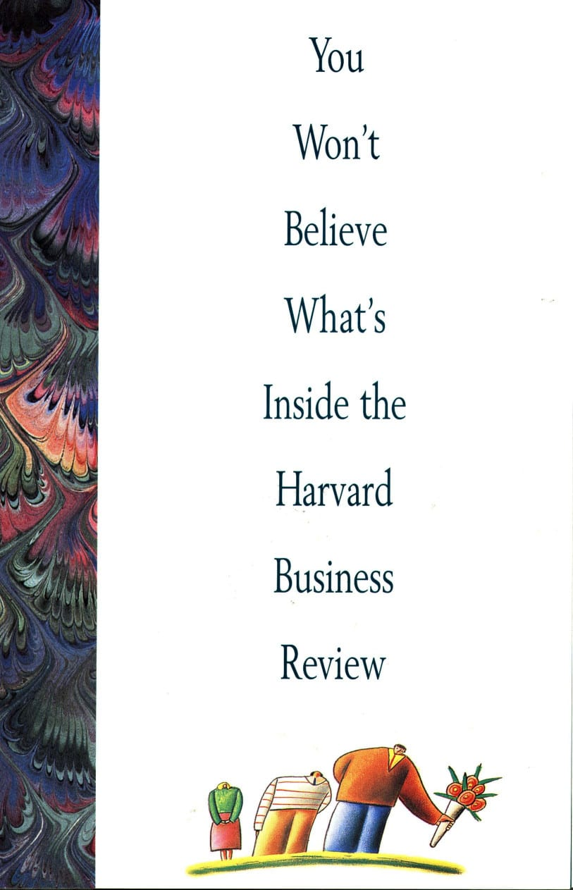 Harvard Business Review Promotion