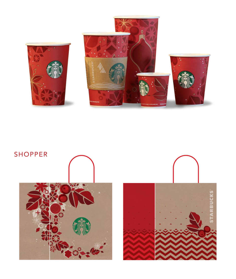 Starbucks Holiday FY14 Promotion