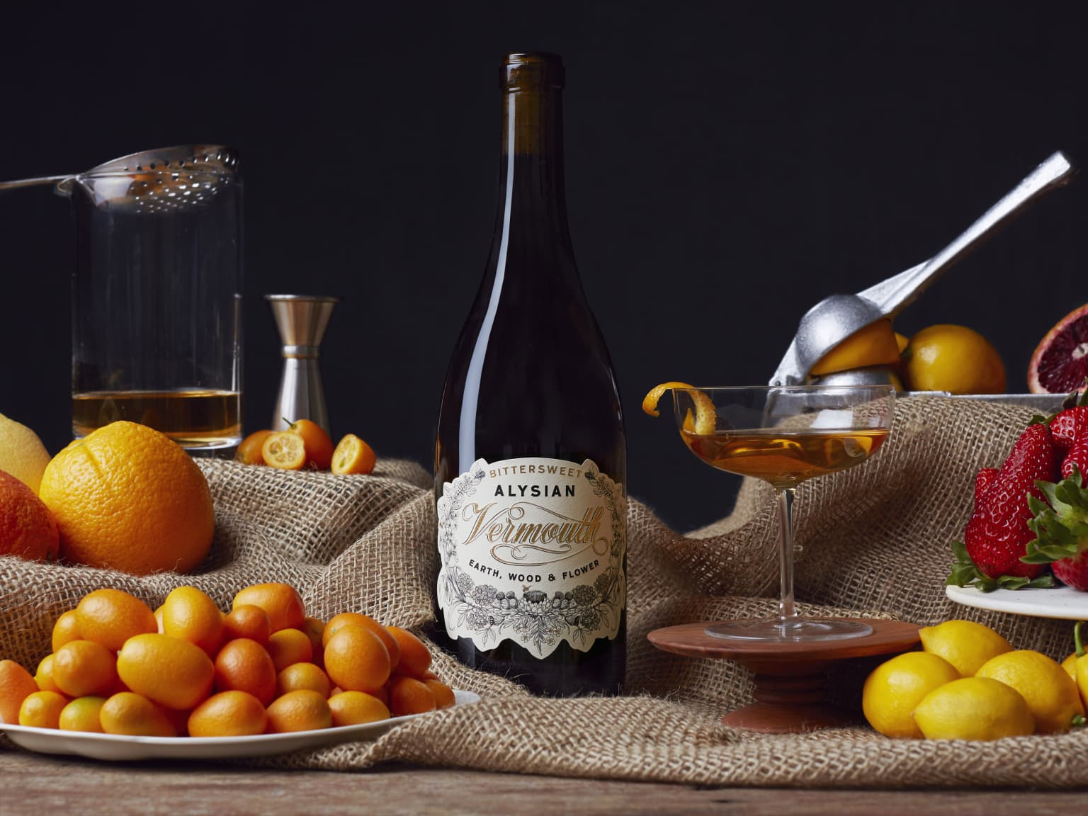 Alysian Vermouth Labels
