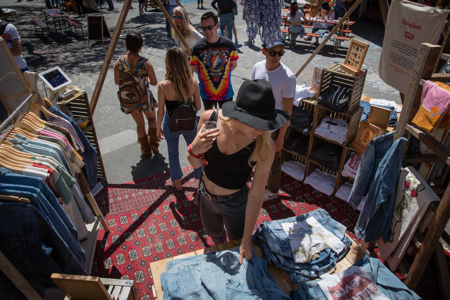 Levi's Outpost at Monterey Pop