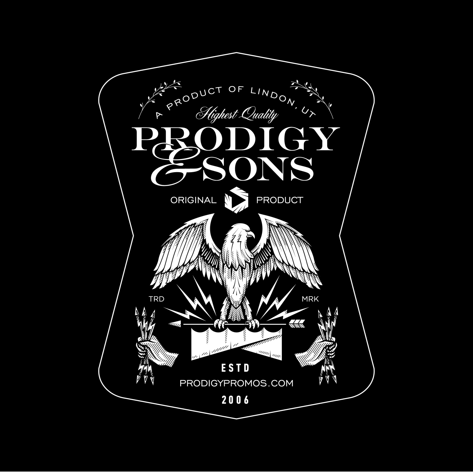 Prodigy Giner Beer Label
