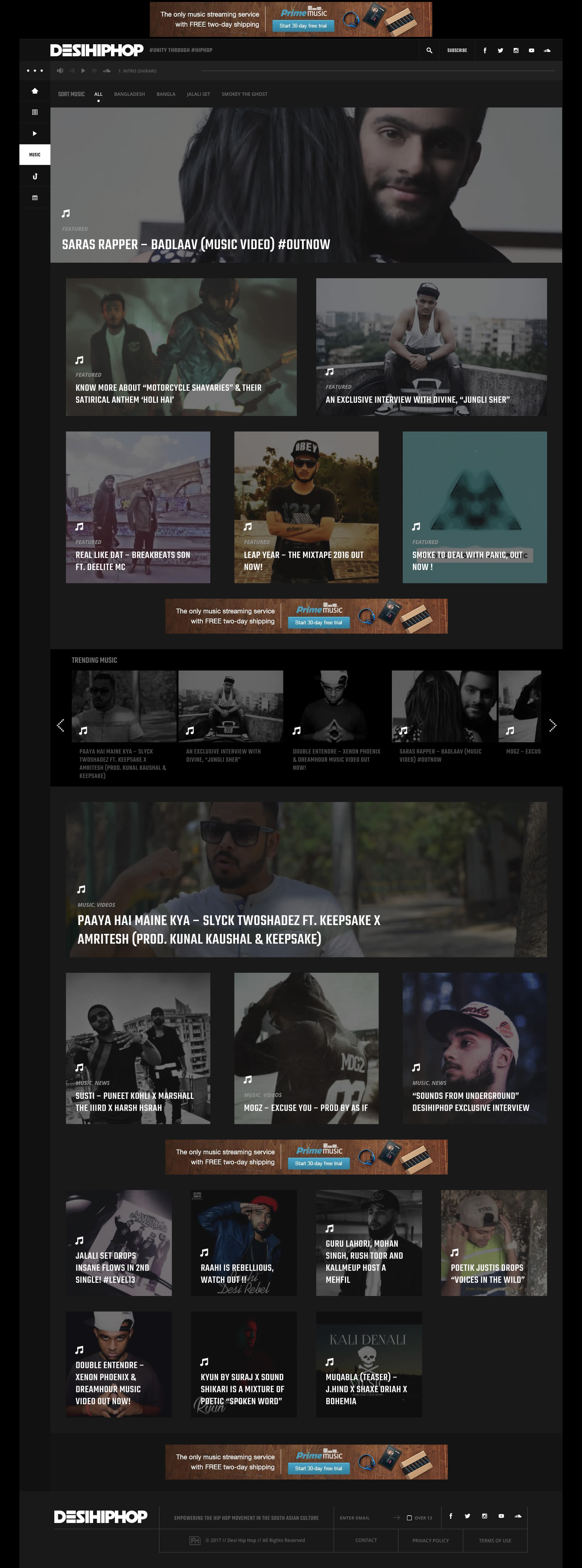 Desi Hip Hop Website