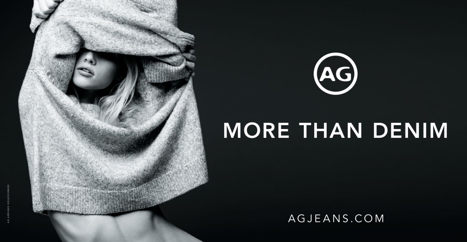 AG Jeans Holiday '17 Collection campaign