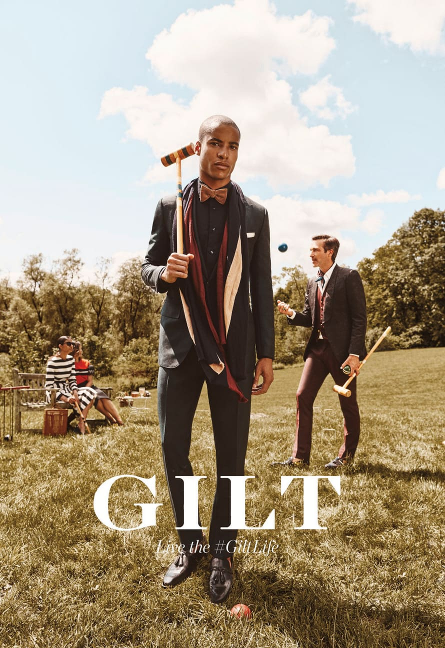 Gilt advertising campaign 2016