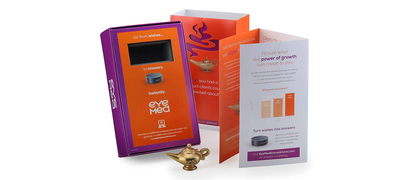 EyeMed Broker Campaign Dimensional Mail