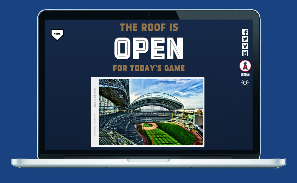 Is the Roof Open?