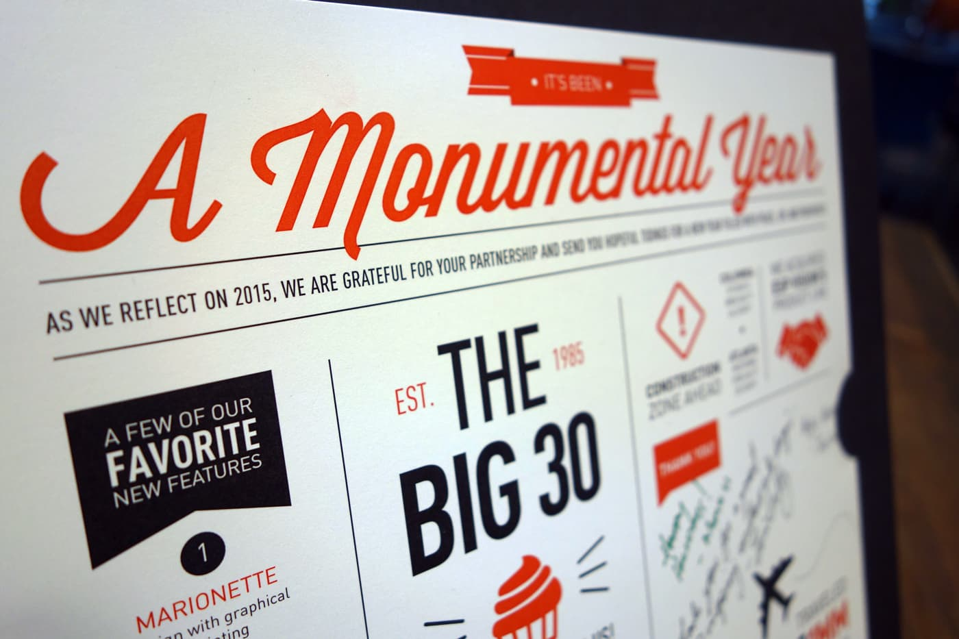 A Monumental Year | Holiday Gift
