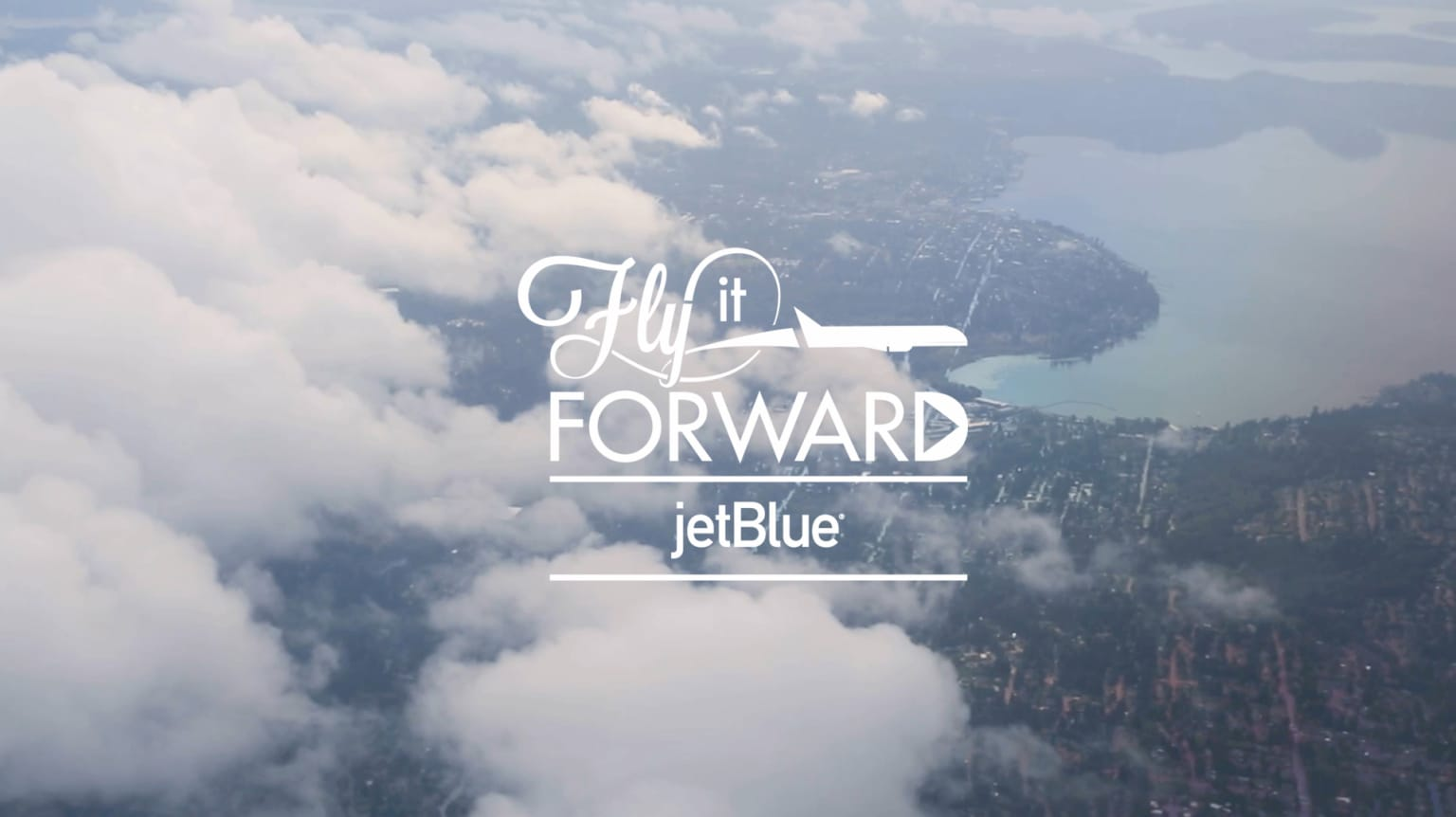 "JetBlue ""#Flyitforward"""