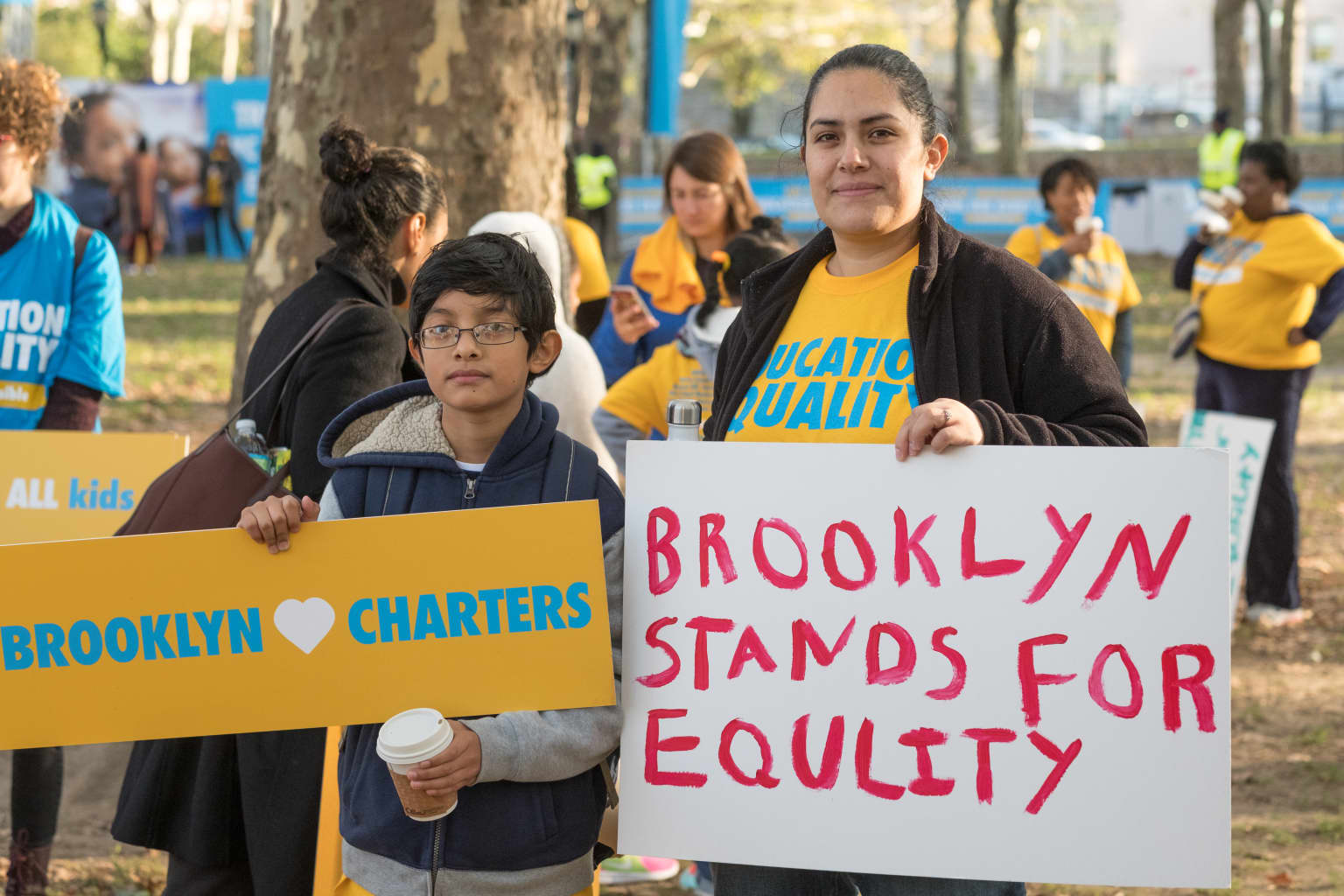 Brooklyn Charter School Rally