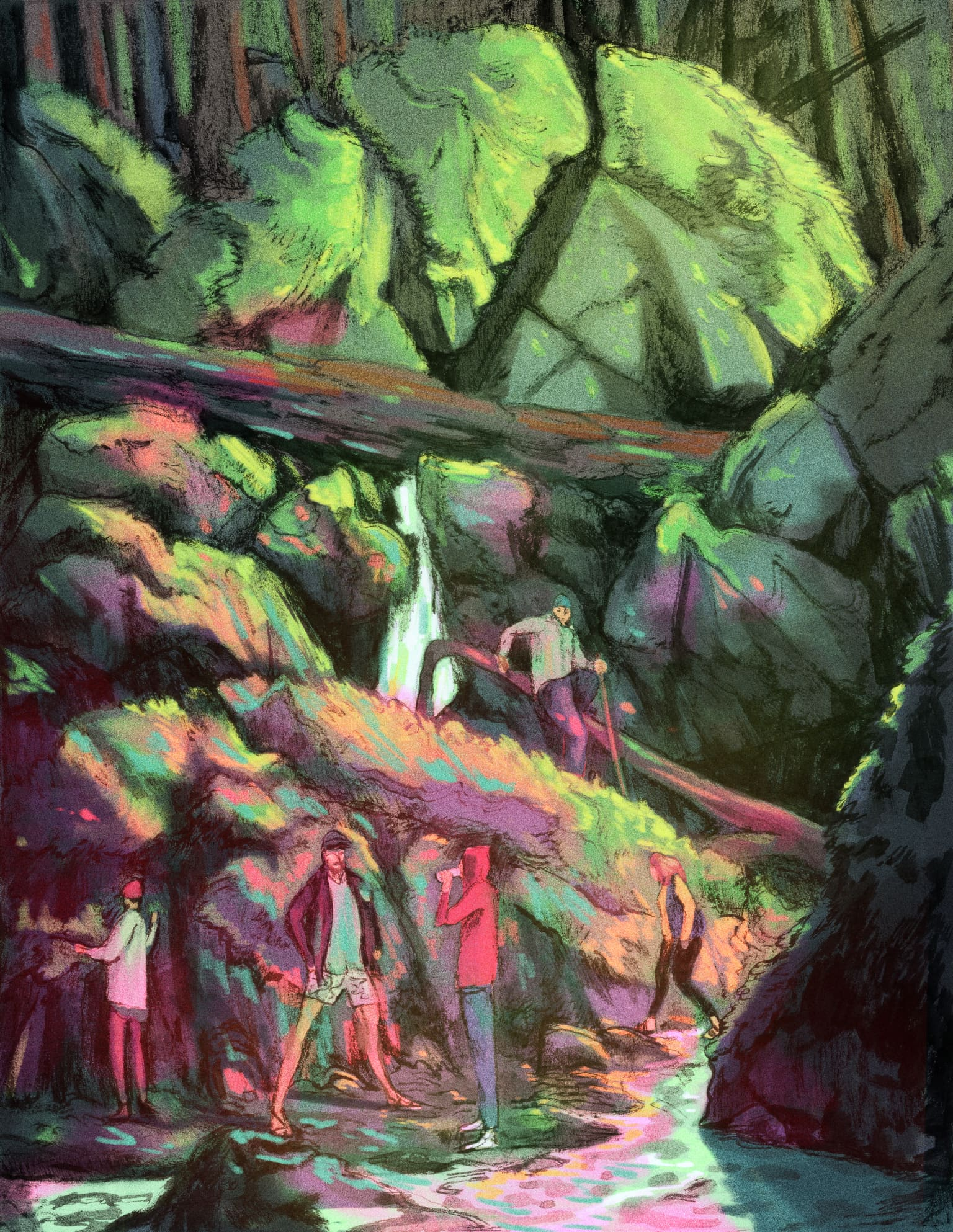 Tripping in Ravines