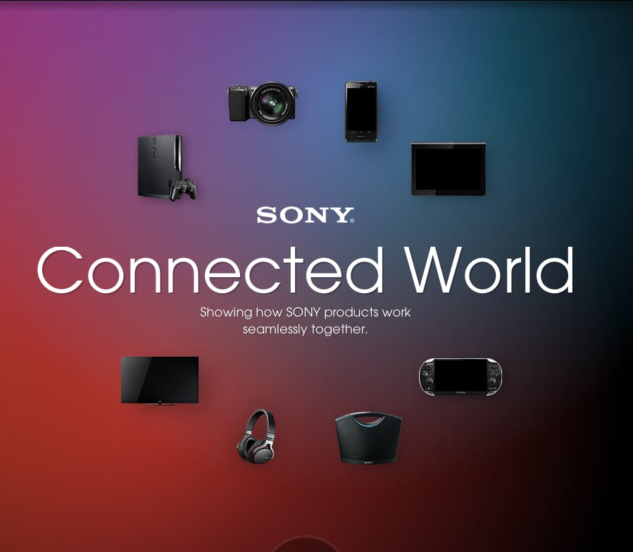 """Sony: """"Connected World"""" campaign"""