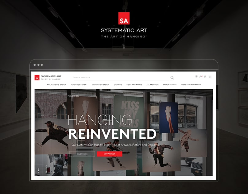 Systematic Art website