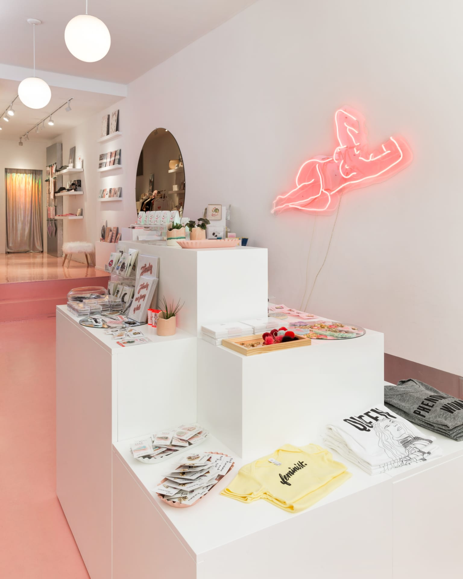 Interior Design for Bulletin.co's Retail Space in NYC