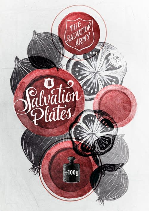 Salvation Plates Posters