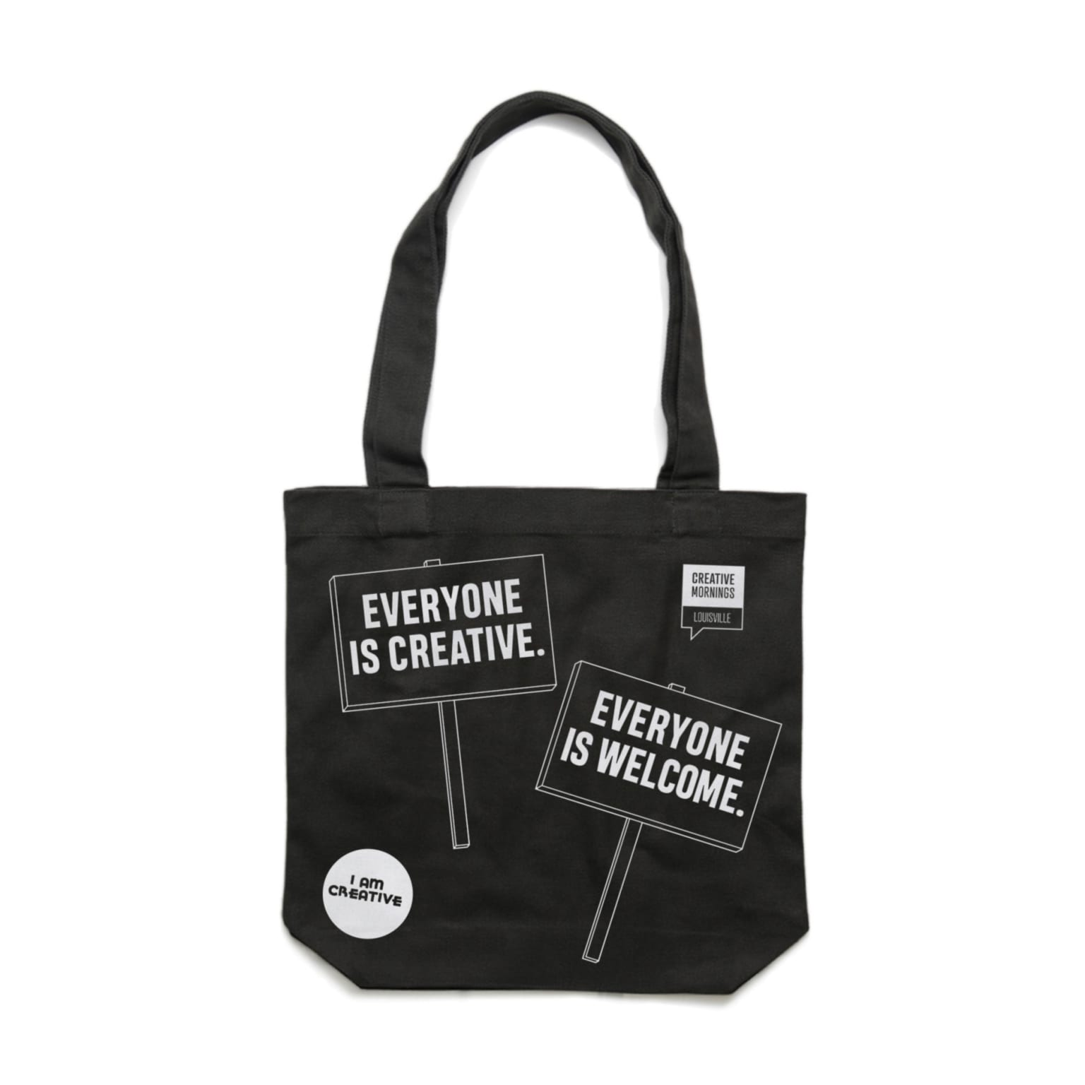 Creative Mornings Welcome Tote