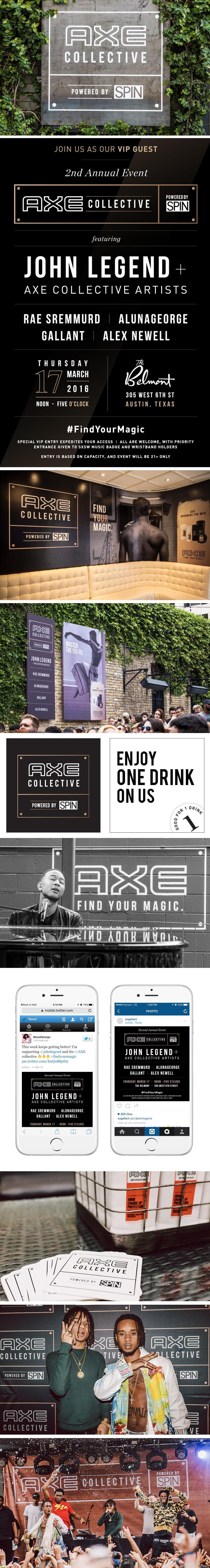 SXSW with Axe Collective