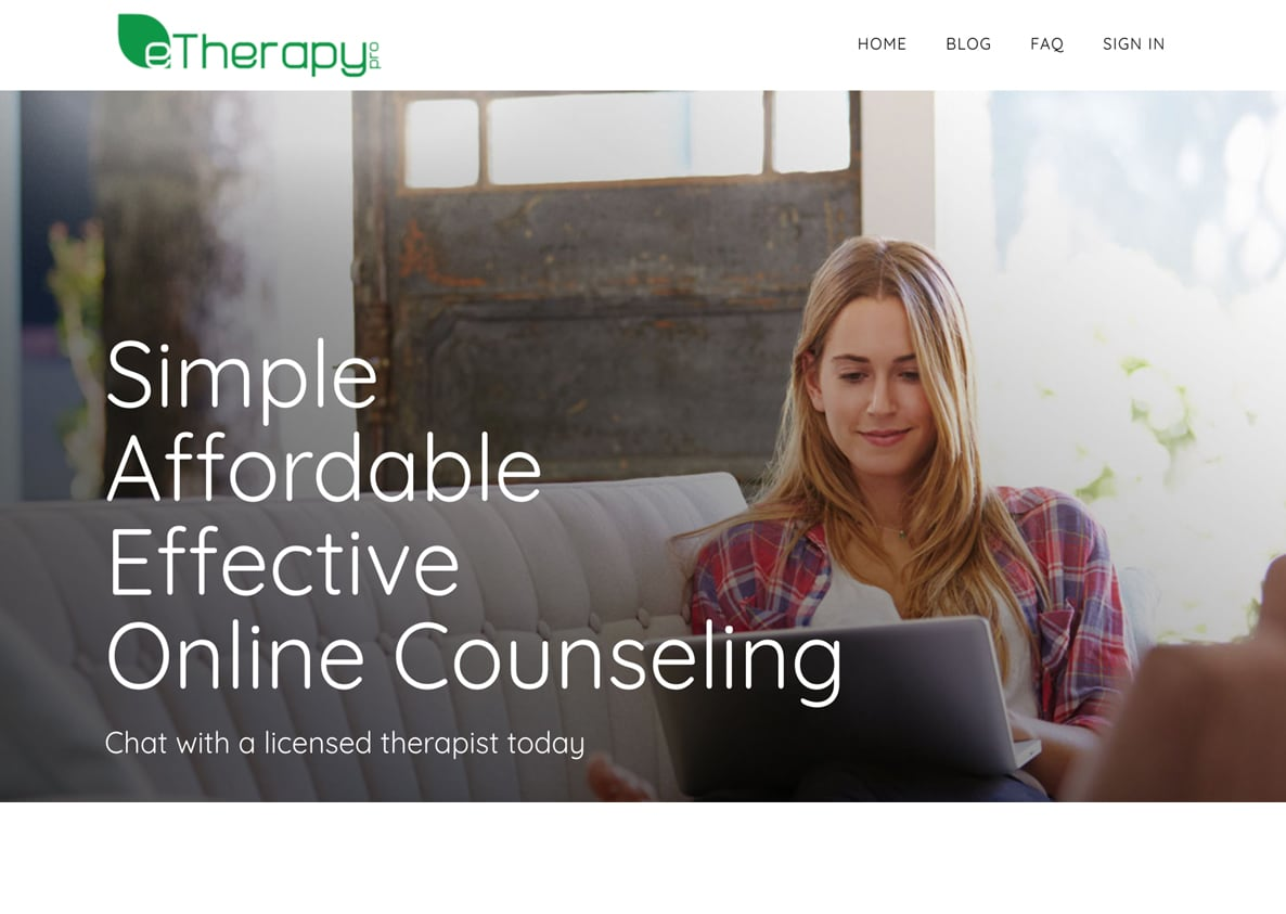 eTherapy Pro Website