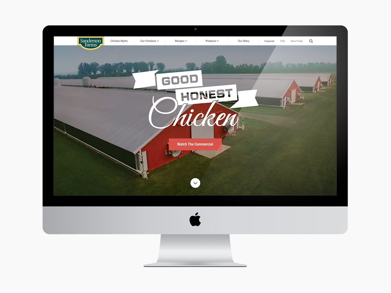 Sanderson Farms Site Redesign