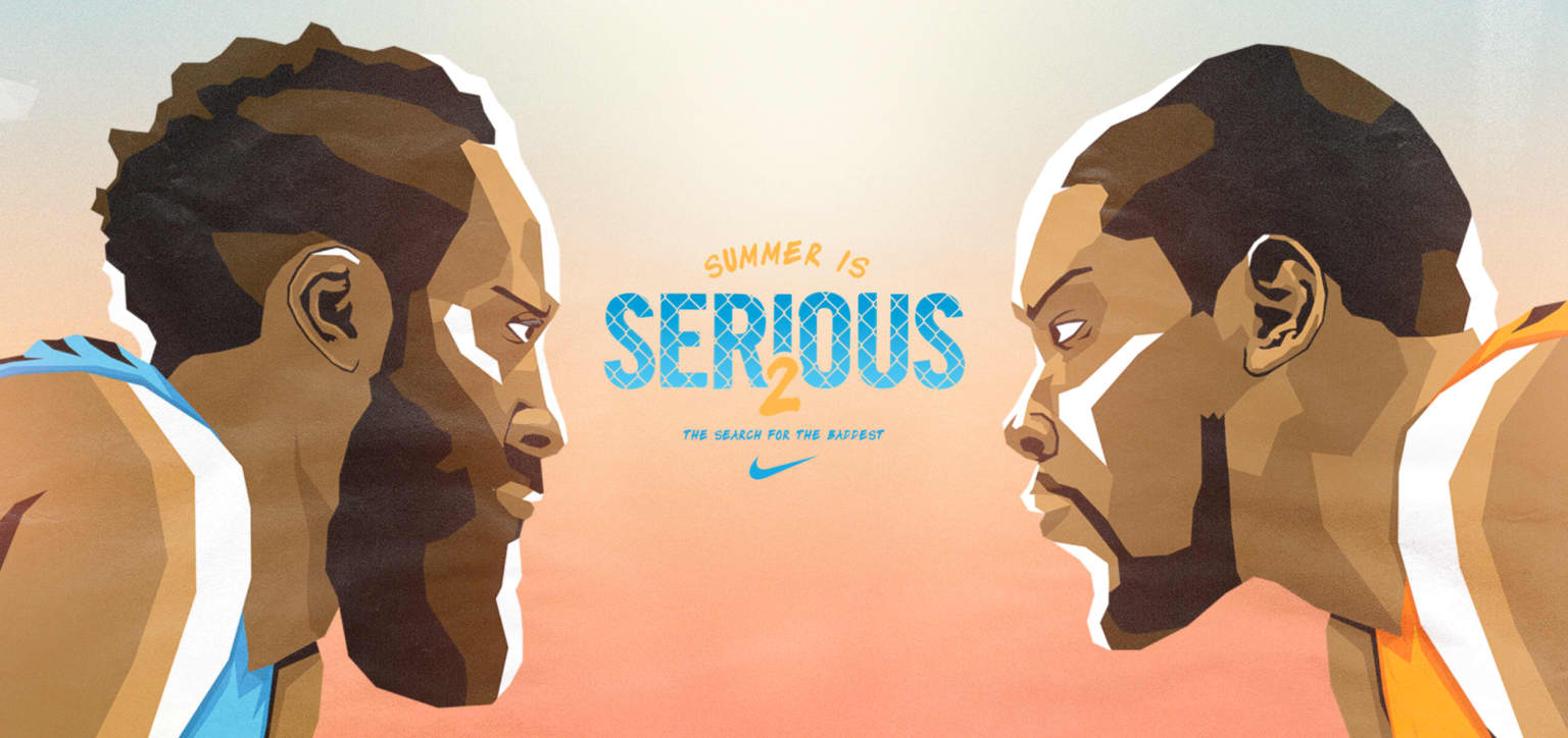 Nike Basketball Summer is Serious 2
