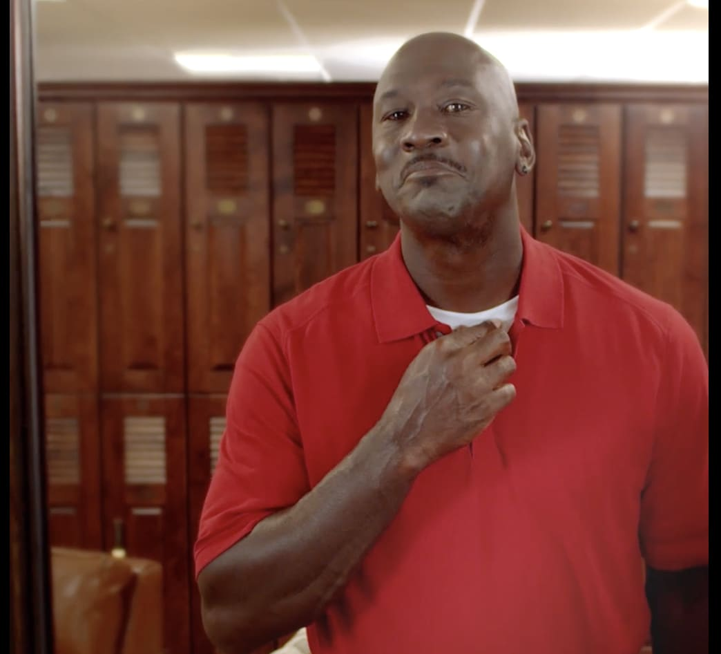 Are you chill enough to chill with Michael Jordan?
