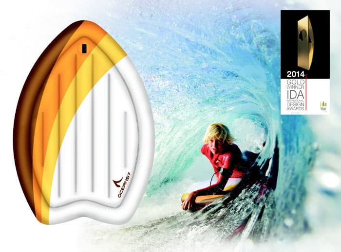 """Oceans7 """"Paipo"""" Inflatable Bodyboard Collection"""
