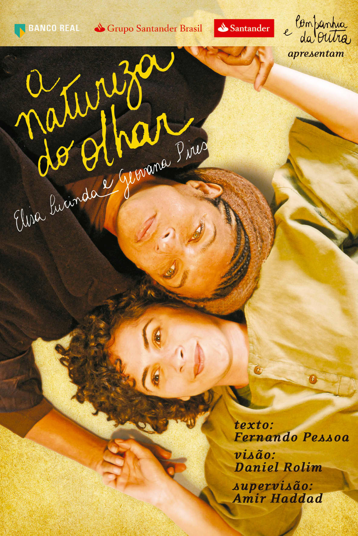 """""""A Natureza do Olhar"""" (The Nature of the Eye) - Theater play"""