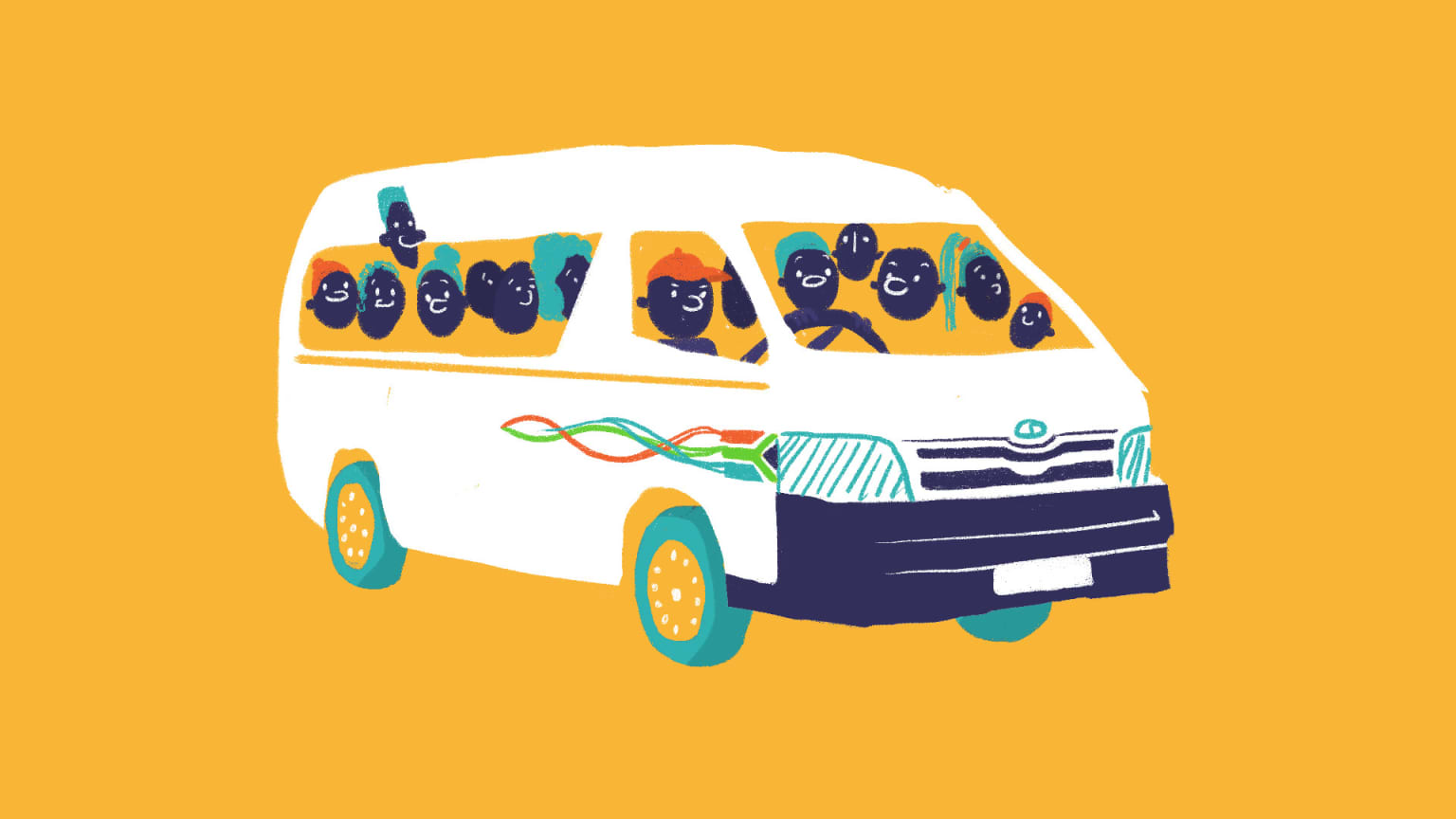An Ode to South Africa's Minibus Taxis