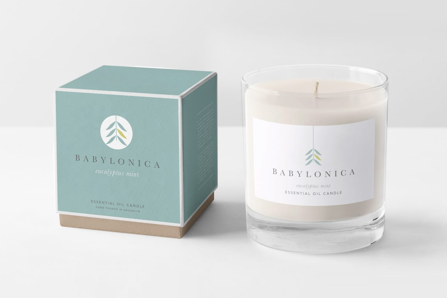 Babylonica Candle Brand & Packaging
