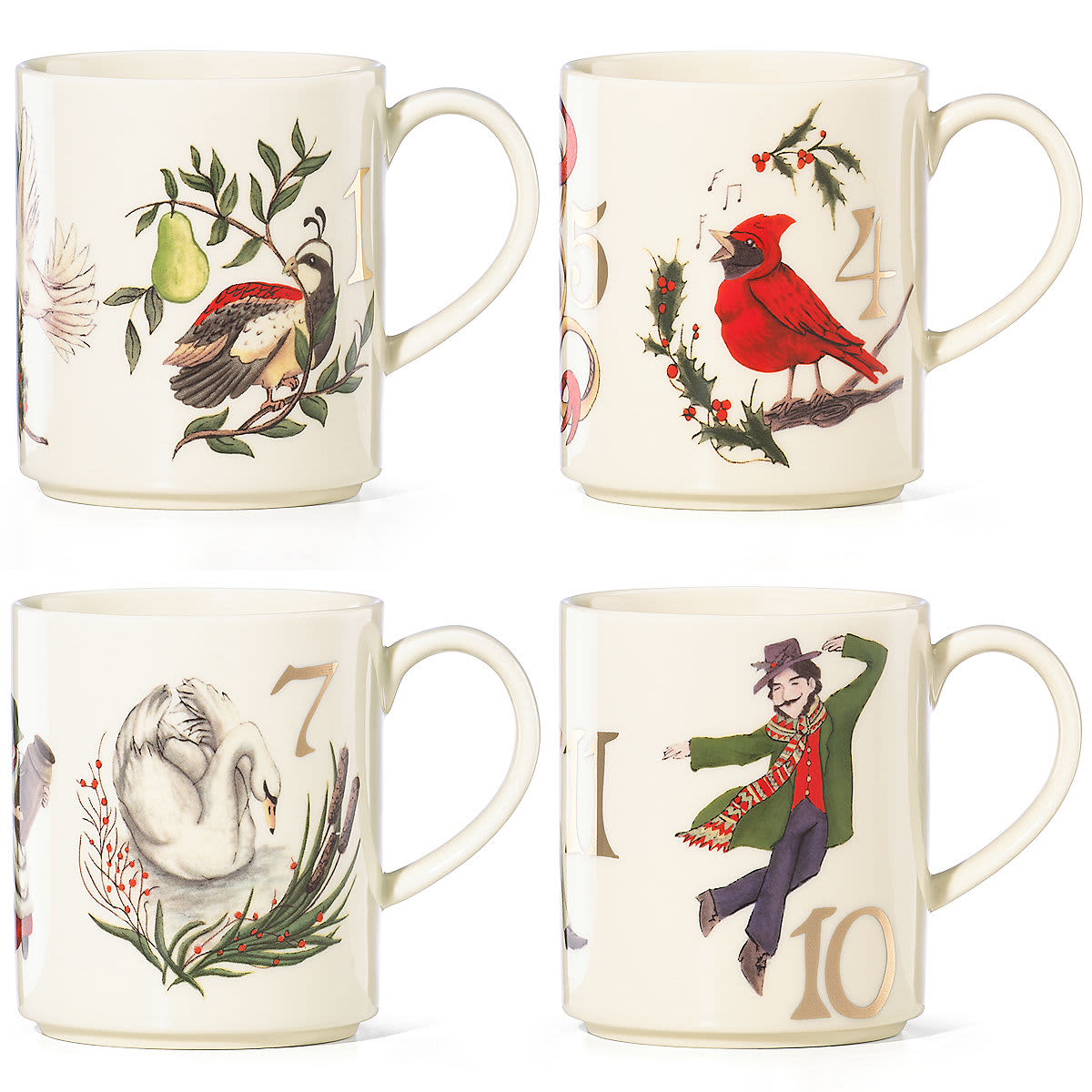 Lenox 12 Days of Christmas Dinnerware and Ornaments