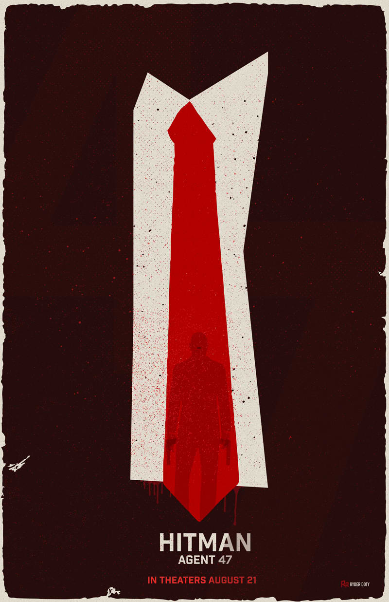 Hitman Agent 47 Movie Poster Wnw
